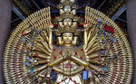 Kannon of the thousand arms