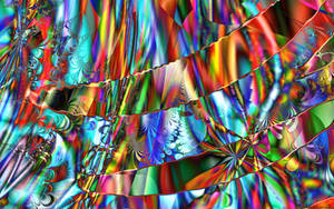 Psychedelic Patchwork by Kancano