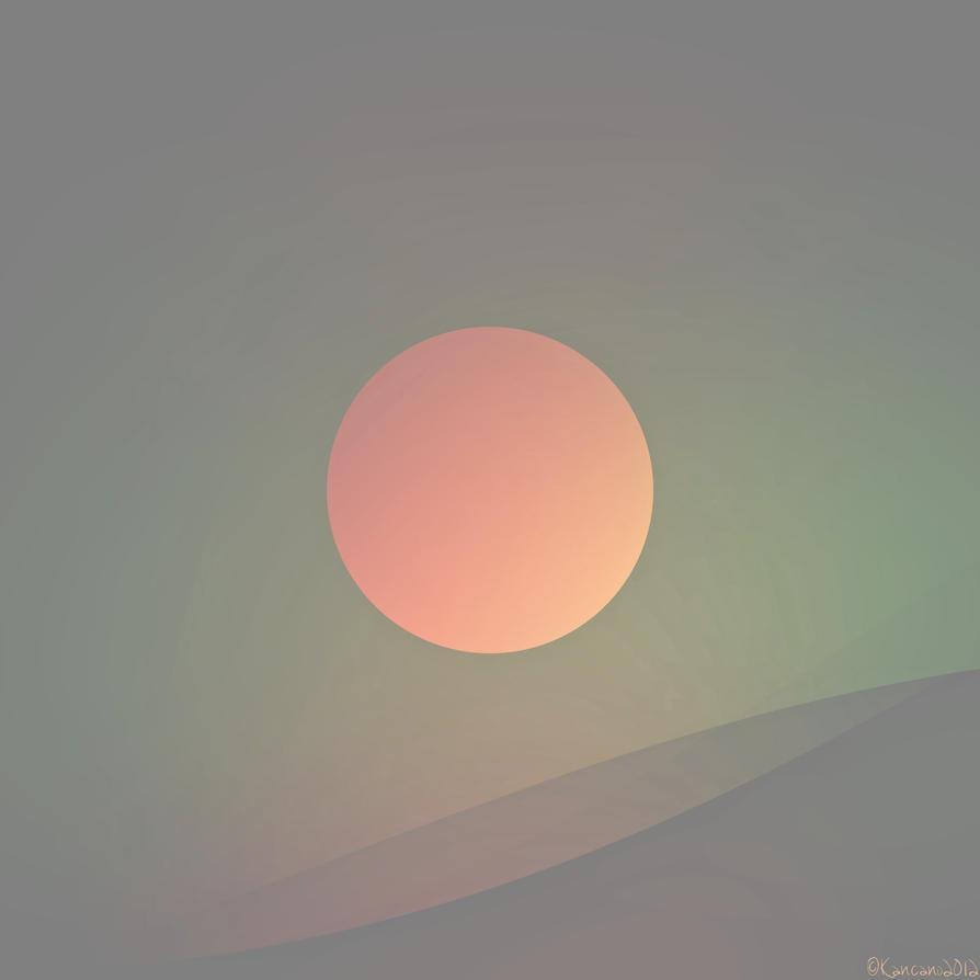Autumnal Sunset by Kancano