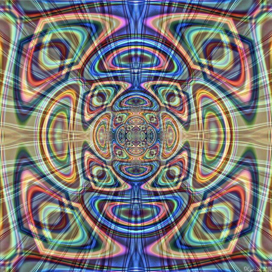 Medicine Mandala by Kancano