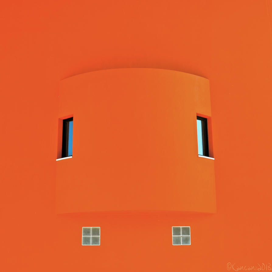 The Future is Orange by Kancano