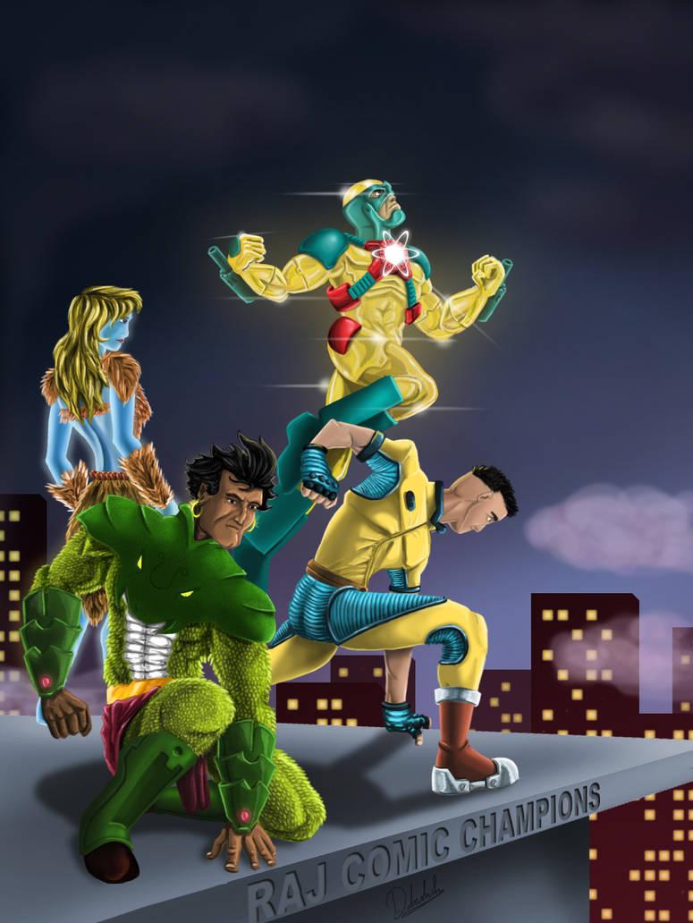 Raj Comics Champion by therealdboy on DeviantArt