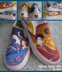 Tokidoki Avatar Vans by Lily-P