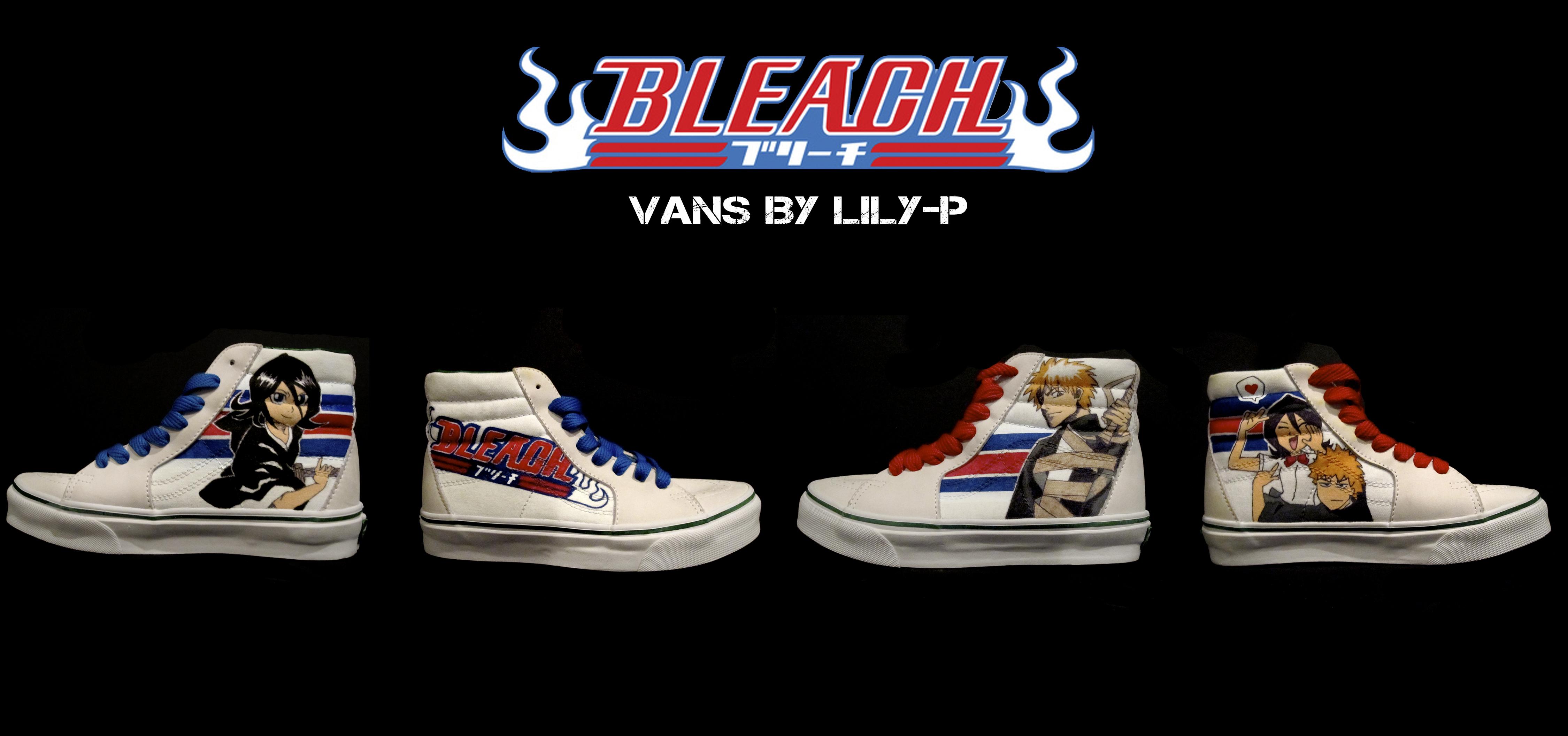 bleach vans by lilyp on deviantart