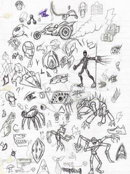 Doodles/Sketches #1