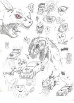 Doodles/Sketches #2