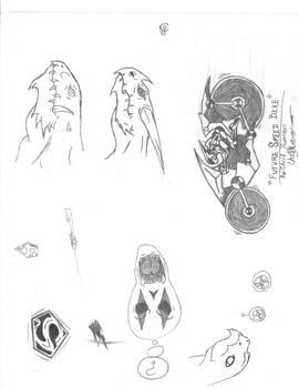 Doodles/Sketches #7