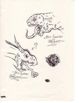 Doodles/Sketches #8
