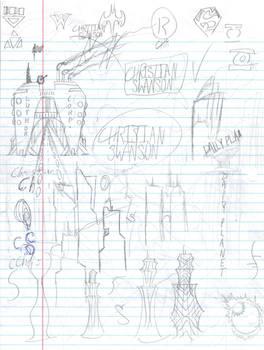 Doodles/Sketches #9