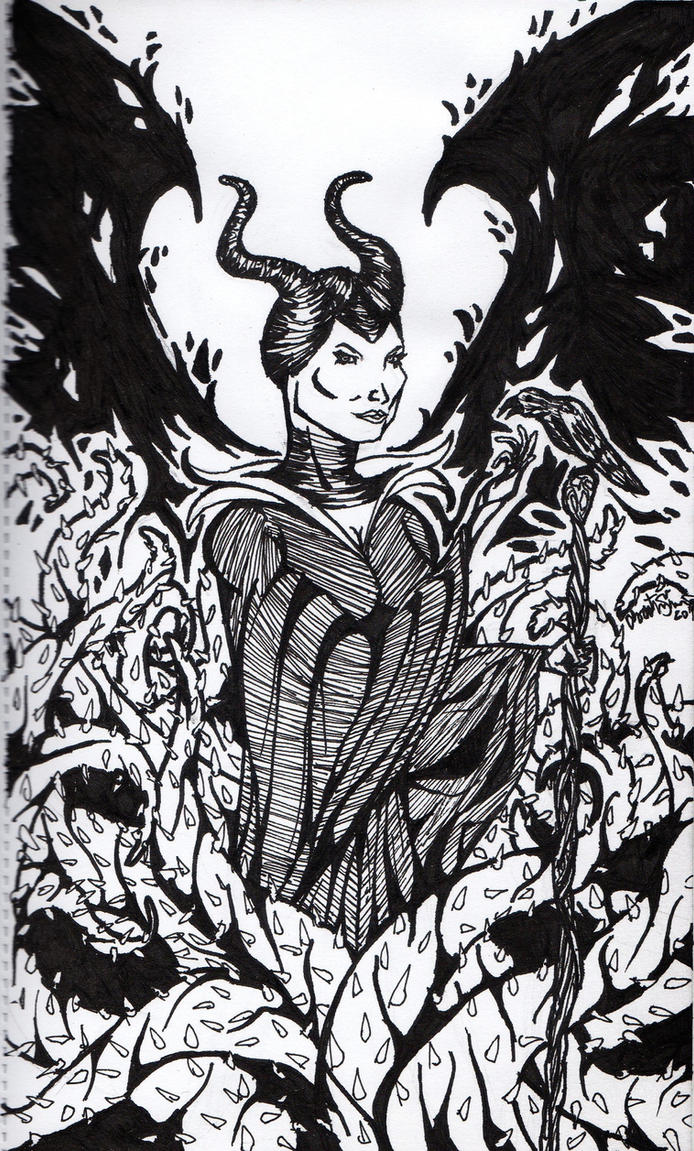 Maleficent by digiCHRIS