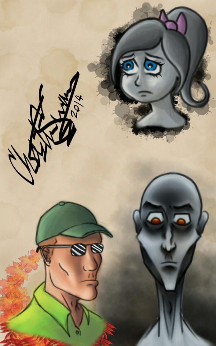 Sketchbook Pro sketches by digiCHRIS