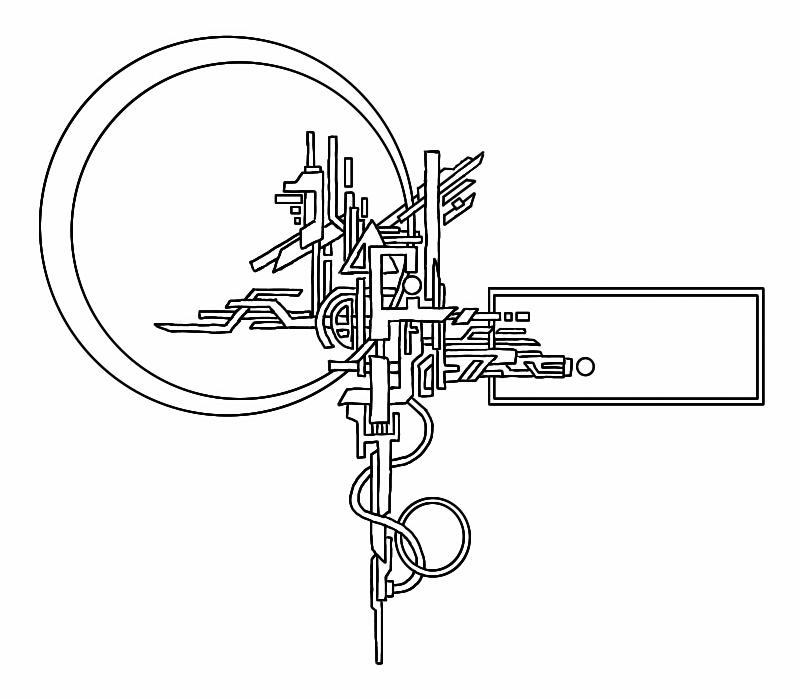 Crazy Sketchbook doodle #1 by digiCHRIS