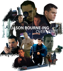 I'm Jason Bourne-ing Over Here! by WaywardMartian