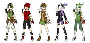 Kubo's Pokemon Trainers