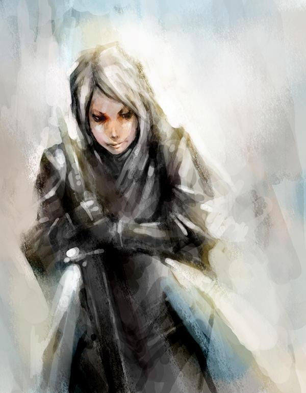 Lady Knight by ogitaka