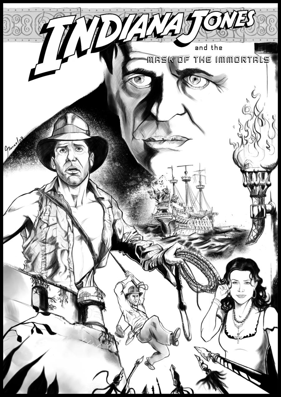 indiana jones 4 coloring pages - photo#24