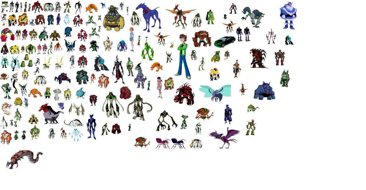 Ben 10 omniverse aliens by soheilben on deviantart ben 10 omniverse aliens by soheilben voltagebd Images