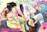 Fading Colors promo postcard