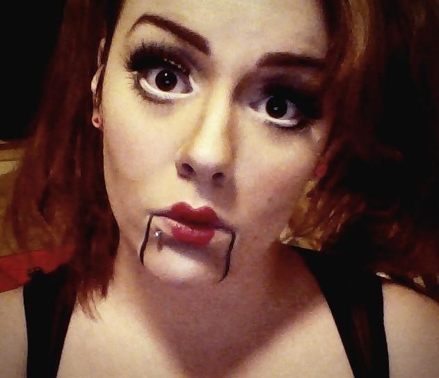 Halloween Creepy Doll Makeup by TrainerTeddie on DeviantArt