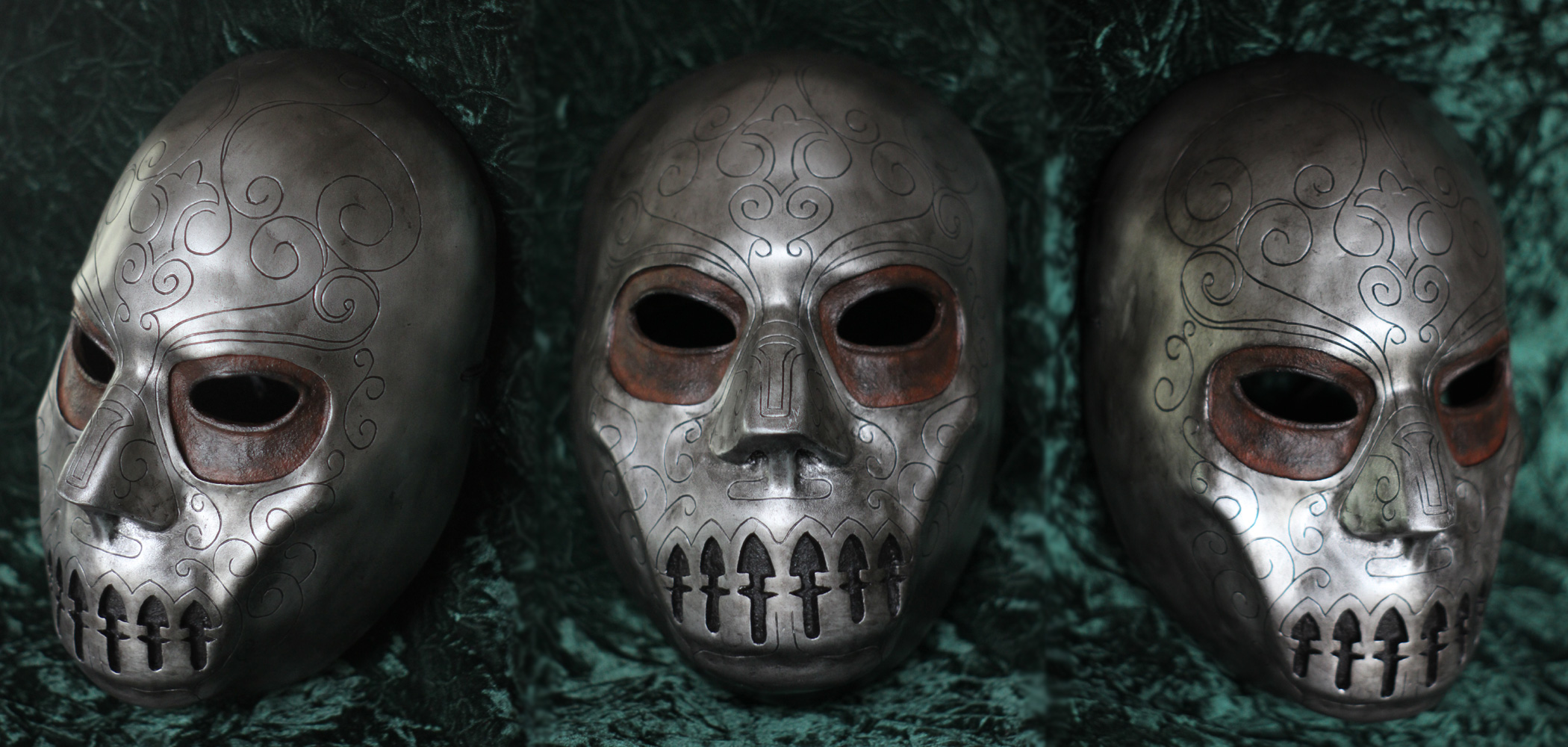Death Eater Mask by random-soul on DeviantArt