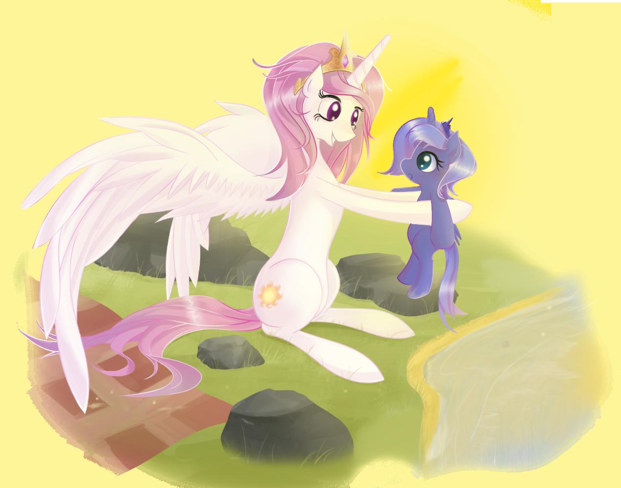 Luna Thy Hoof by v-invidia
