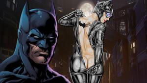 Batman And Catwoman Gotham Walpaper