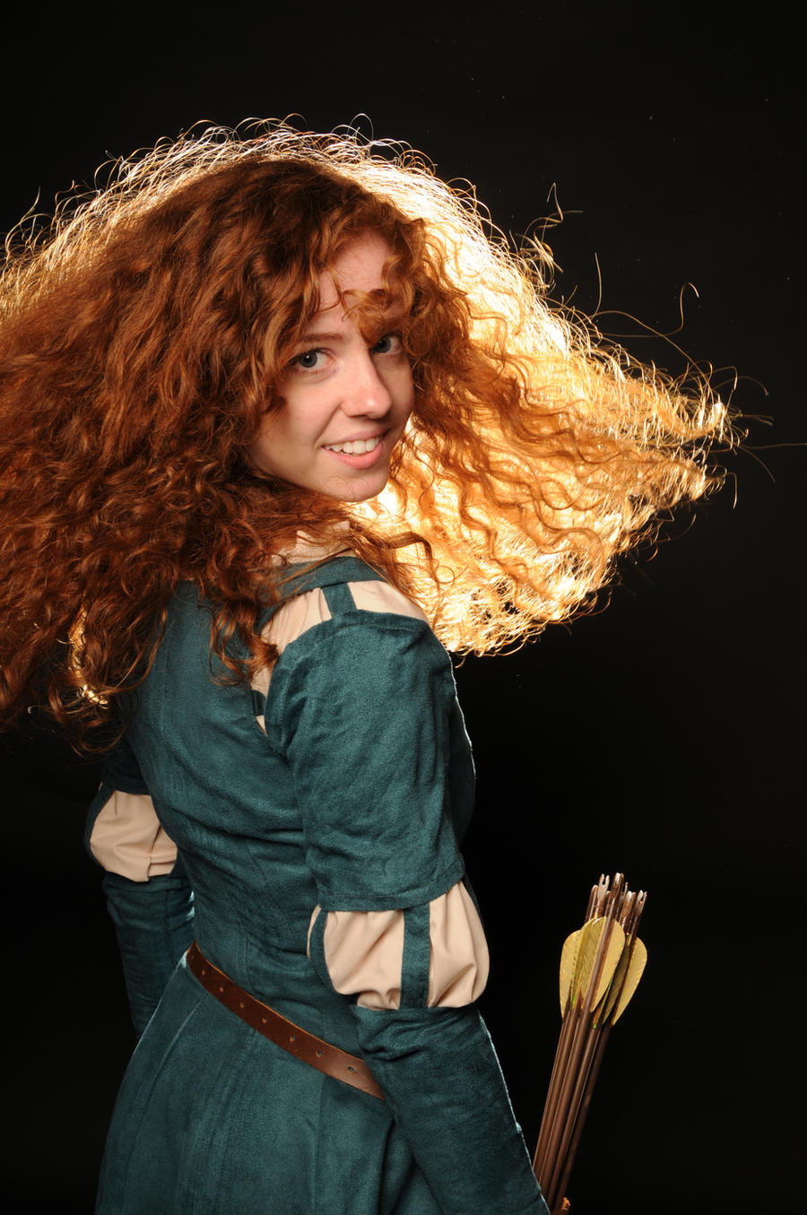 Merida DunBroch by Ginger-Hero