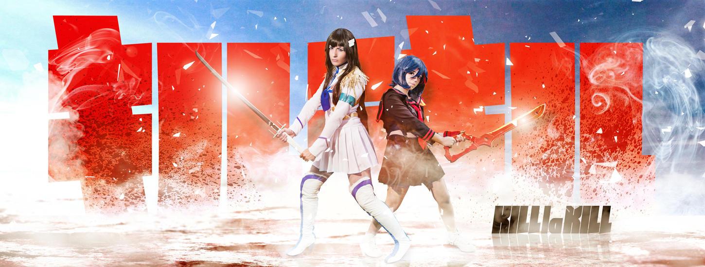 Kill la Kill - Kiryuin Satsuki - Matoi Ryuko by PicsbyNandemonai