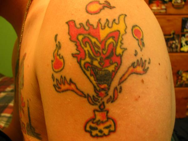 The Amazing Jeckel Brothers Tattoo