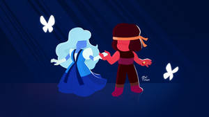 Steven Universe - Ruby and Sapphire