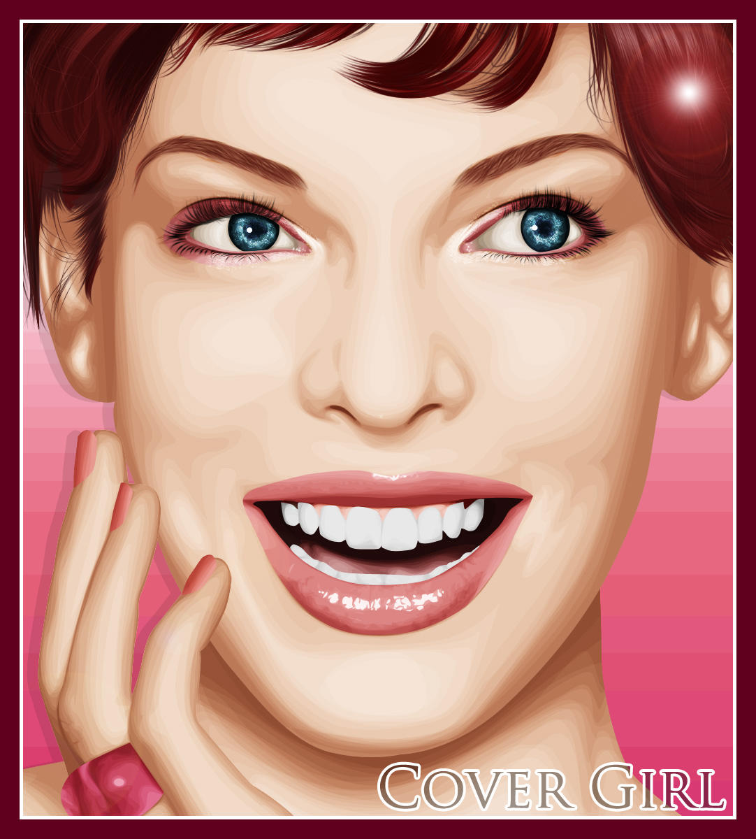 Cover Girl - Milla Jovovich by iris-xx