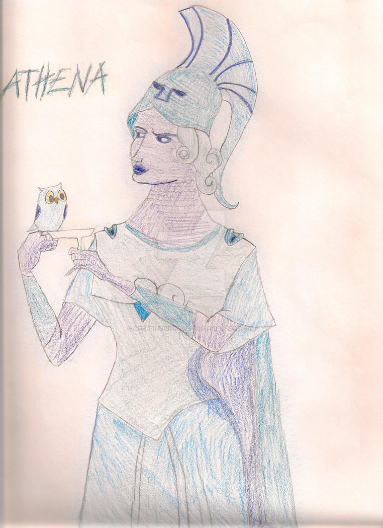 Athena... by WEChristineInTrainin