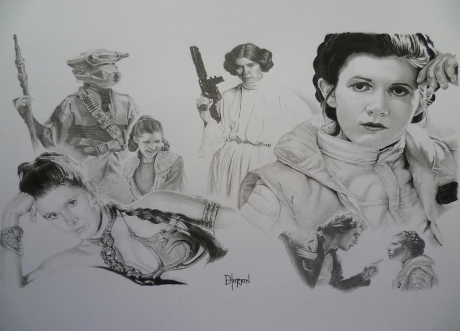 Leia by Quadcabbage