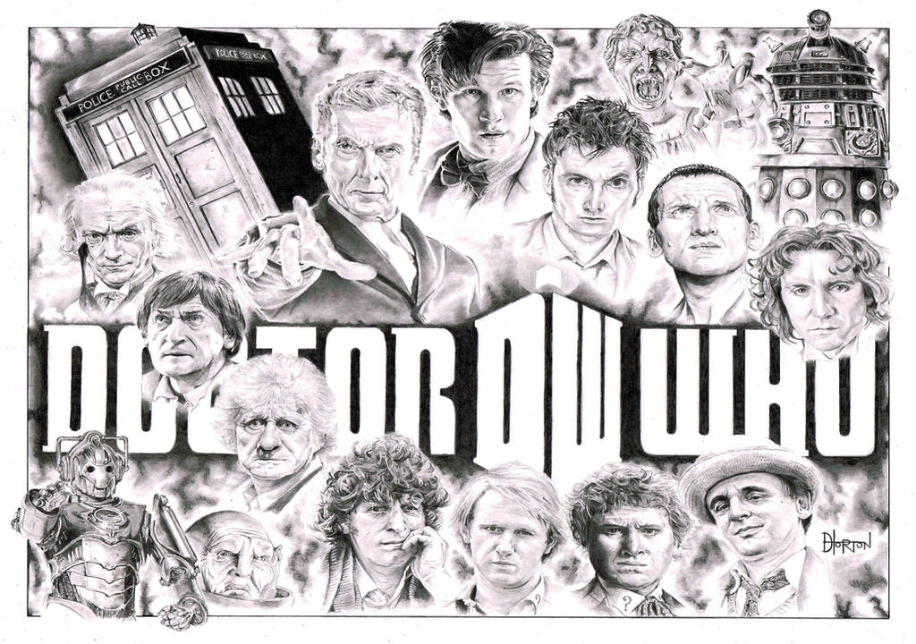 Doctor Who by Quadcabbage