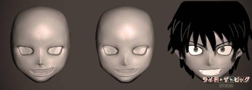 Mask model evolution by MoreThanOneFace