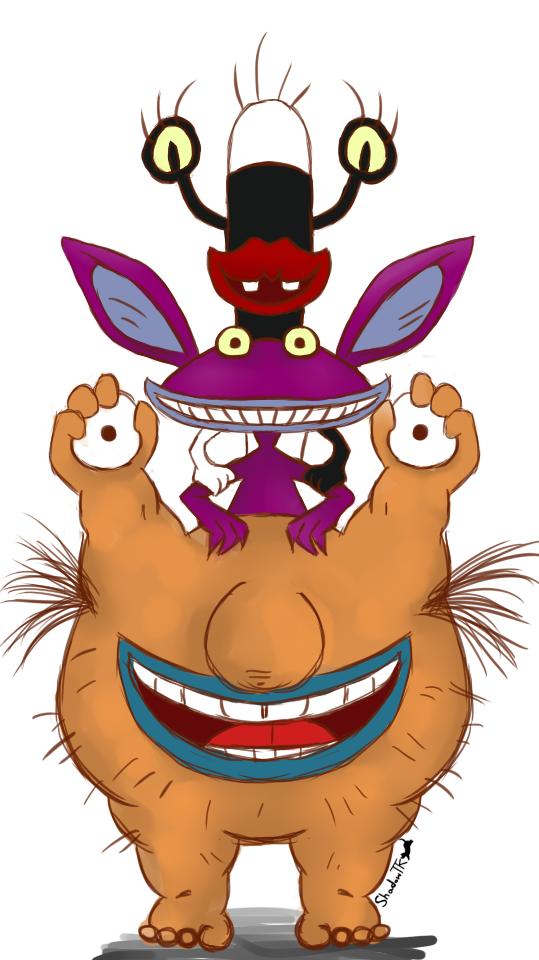 Aaahh Real Monsters! by shadowtigerkitten