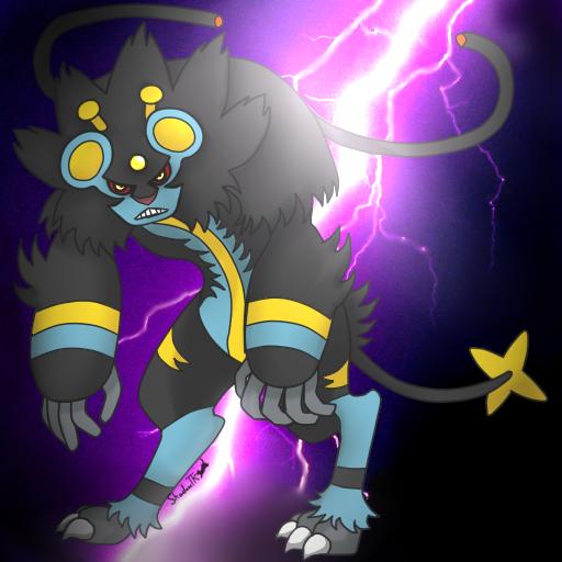 Pokemon Fusion: LuxrayXElectivire by shadowtigerkitten