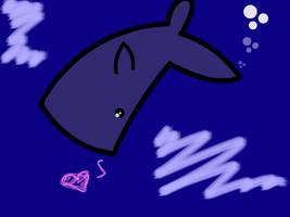 Whale Fanart by NellyIsAmurderTramp