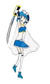 Sayaka Miki Adventure Time Style