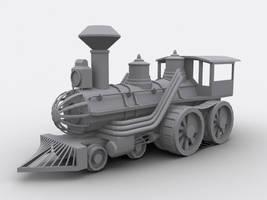 Off Rail Locomotive by SniperWolf87