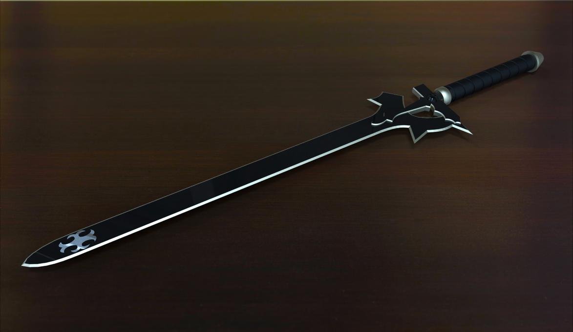 Sword Art Online Elucidator By SniperWolf87