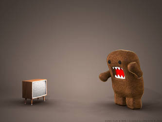 OMG ITS DOMO-KUN by andidas