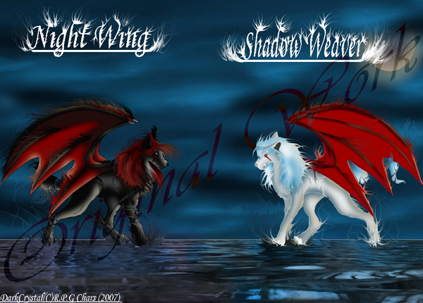 sisters of the demon wolfs by thepaintersshadow on deviantart