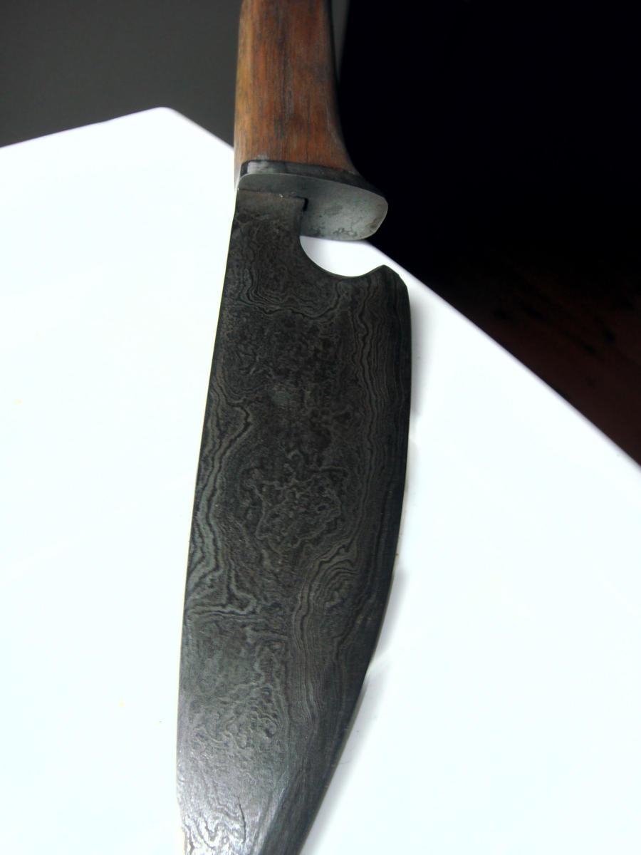 Damascus Kitchen Knife Set