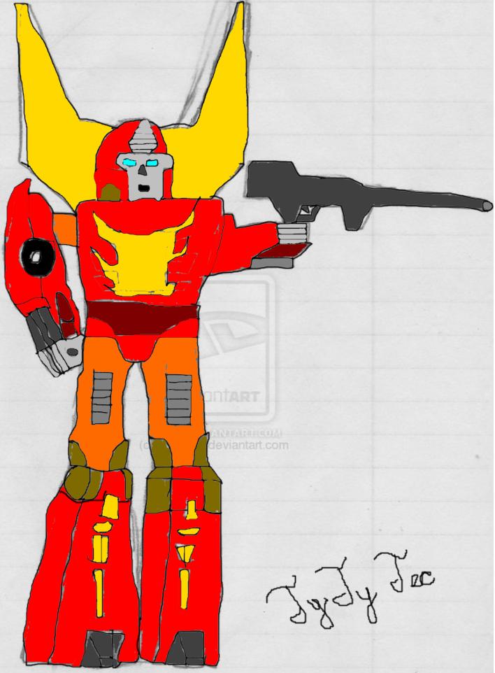 Rodimus Prime! by TyTyTec