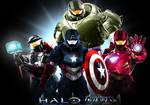 Halo Goes The Avengers