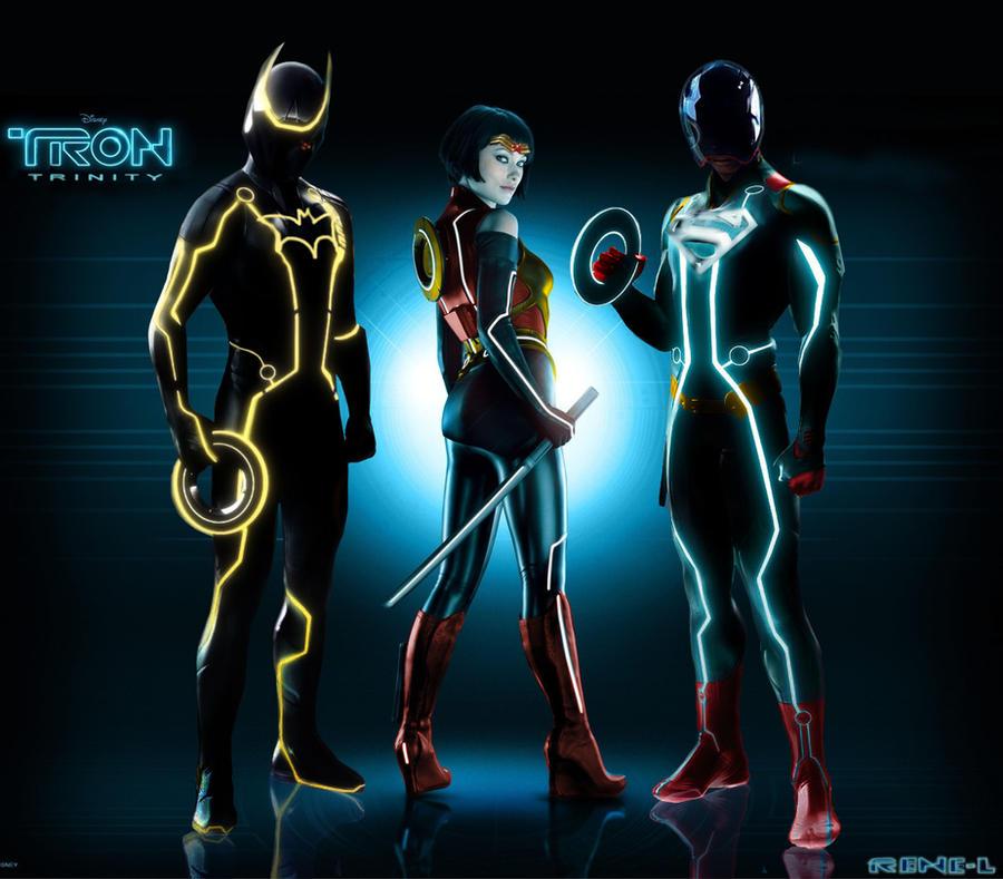 Disney's Tron's Trinity by Rene-L