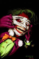 Hunt's Joker coloring by Rene-L