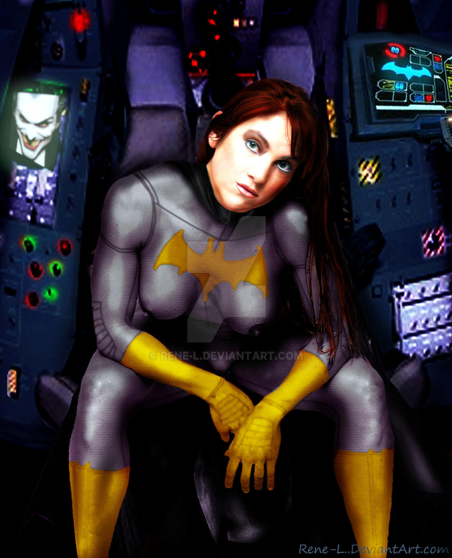 Batgirl Jen by Rene-L