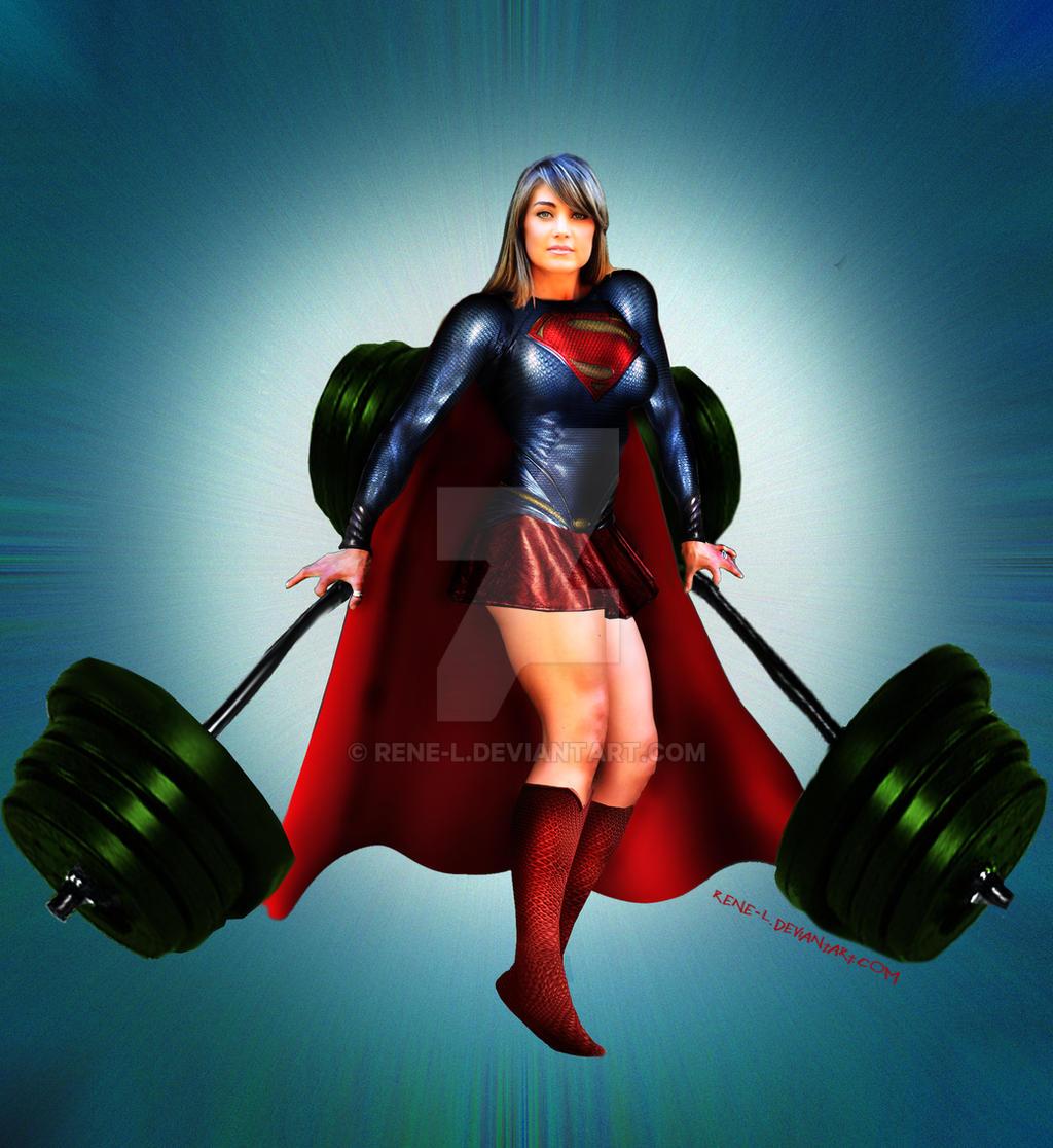 Woman Of Steel Jen by Rene-L